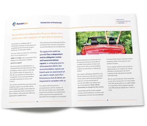 Report giving you pension advice