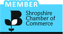 Member of Shropshire Chamber of Commerce